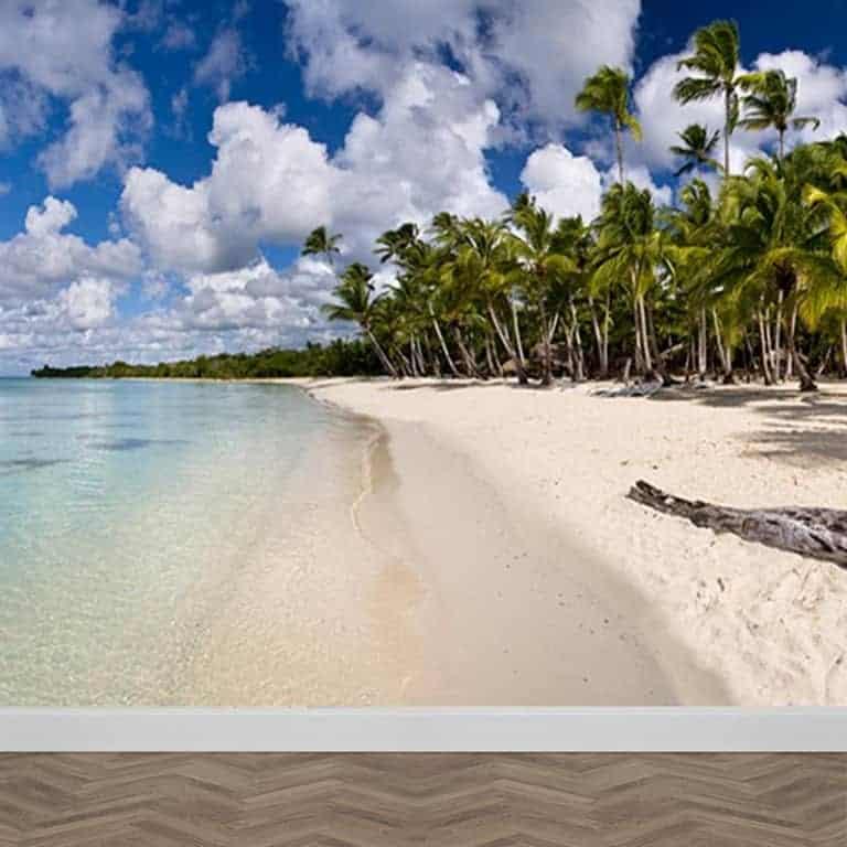 Fotobehang Tropisch eiland