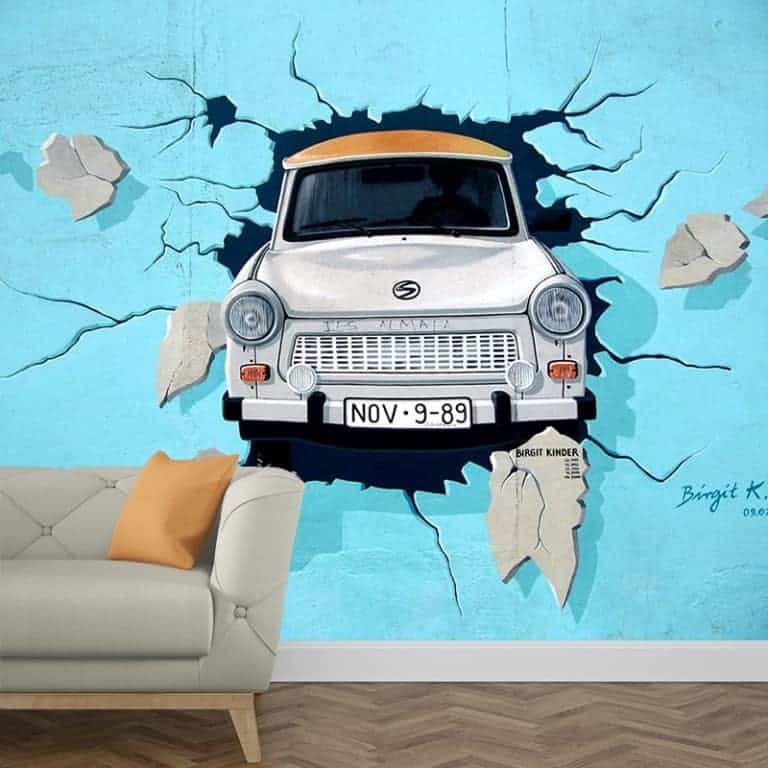 Fotobehang Graffiti auto 1