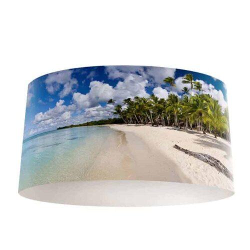 Lampenkap tropisch eiland