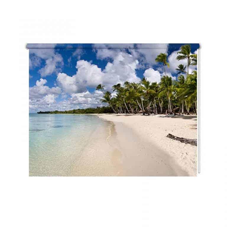 Rolgordijn Tropisch eiland