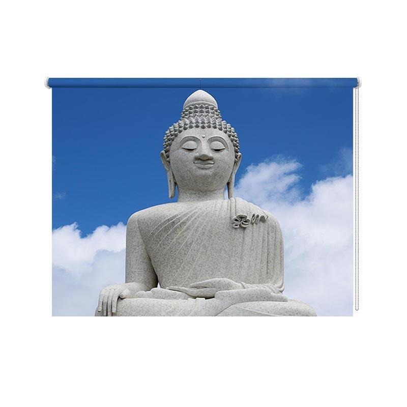 rolgordijn boeddha