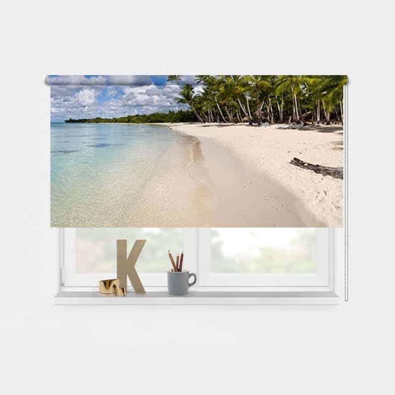 Rolgordijn tropisch eiland 2