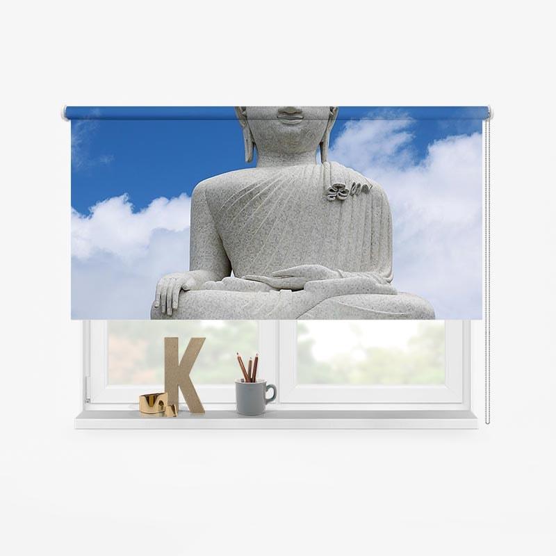 rolgordijn boeddha 2