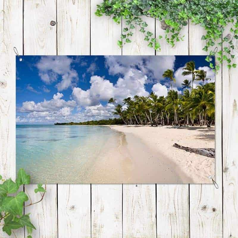 tuinposter tropisch eiland 2