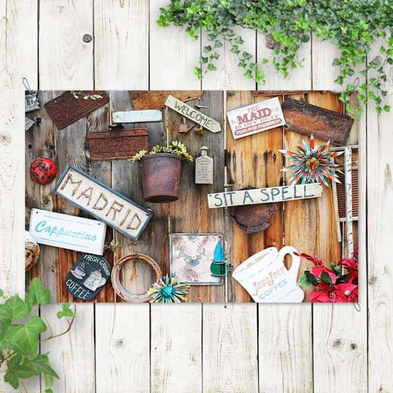 tuinposter Vintage