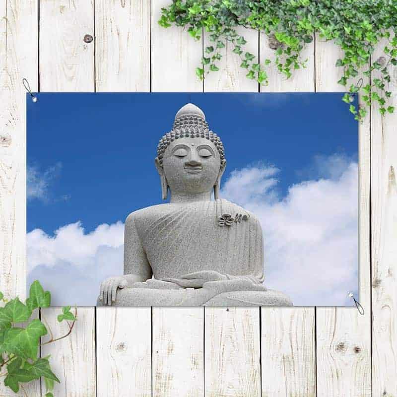 Tuinposter Boeddha 1