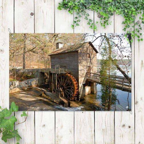 tuinposter oude watermolen 2