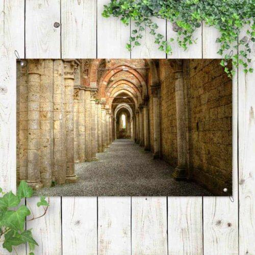 Tuinposter Poort van oneindigheid 1