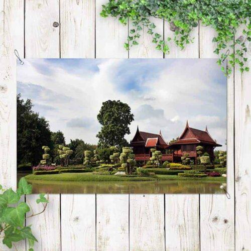 Tuinposter Japanse tuin 2