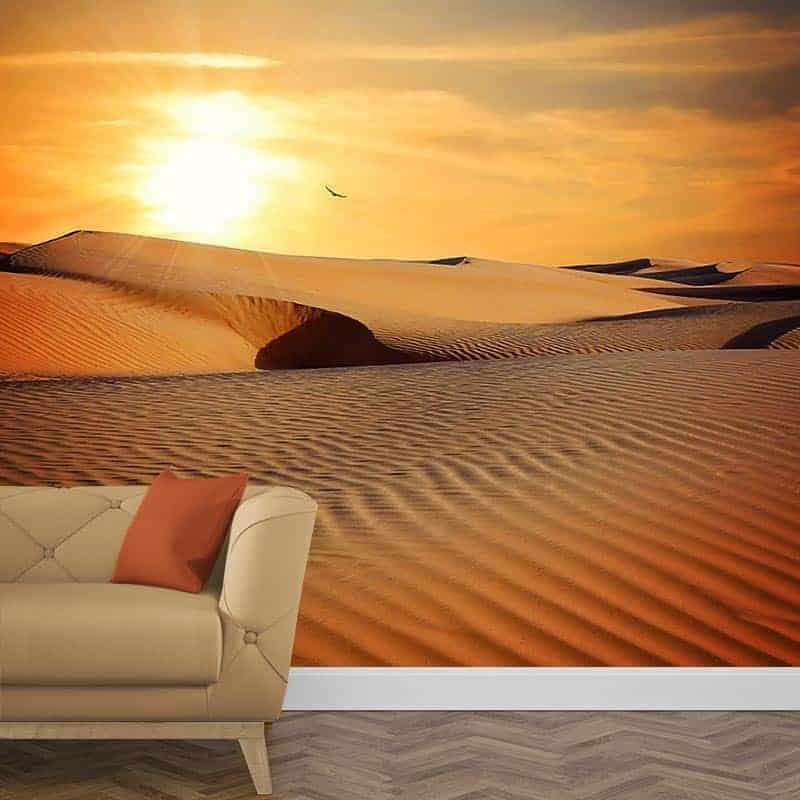 Fotobehang In de woestijn 2