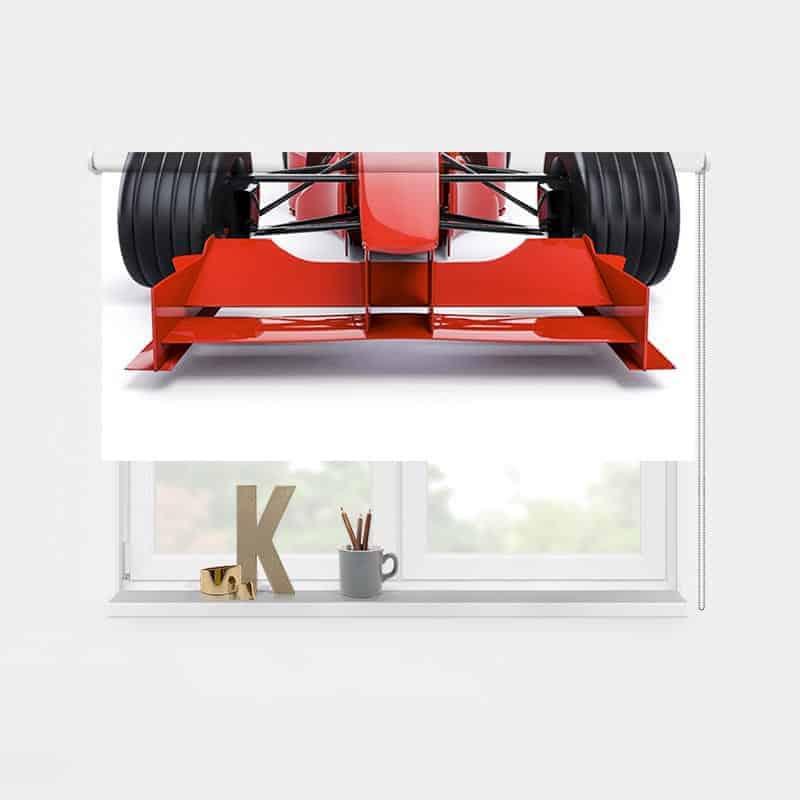 Rolgordijn Raceauto 1