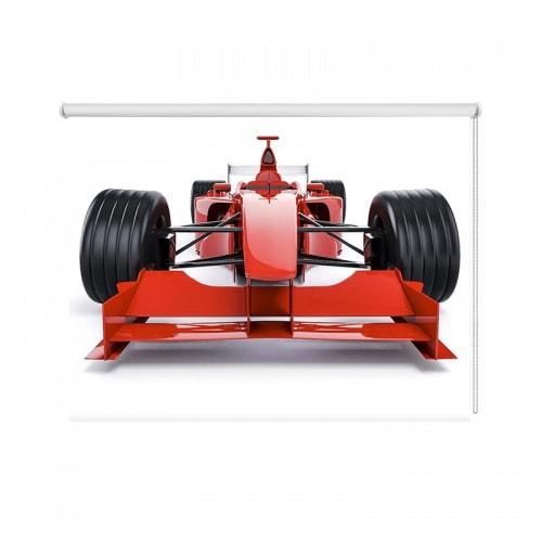Rolgordijn Raceauto