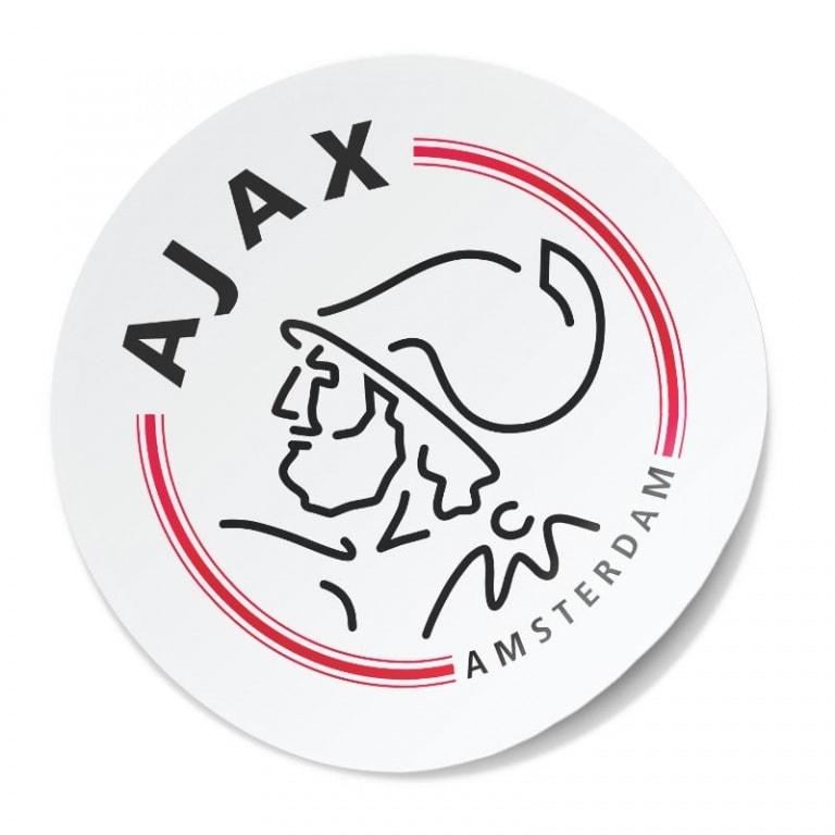 sticker Ajax embleem 1