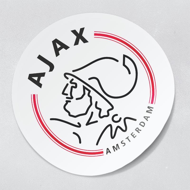 sticker Ajax embleem