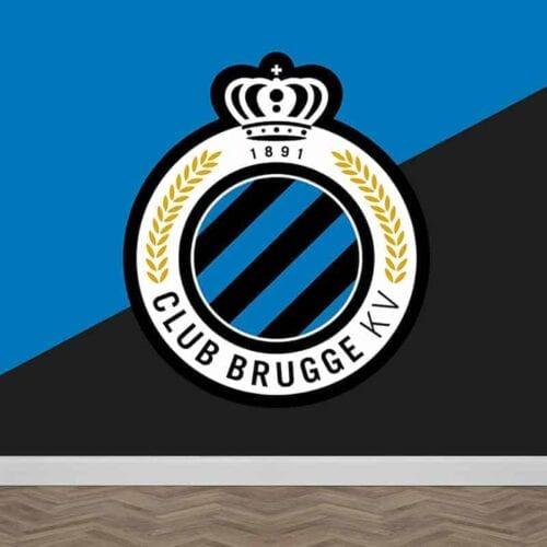 Fotobehang Club Brugge