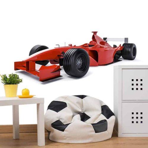 Fotobehang Raceauto 1