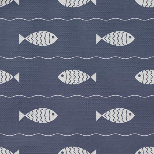 Tafelkleed Zwemmende vissen