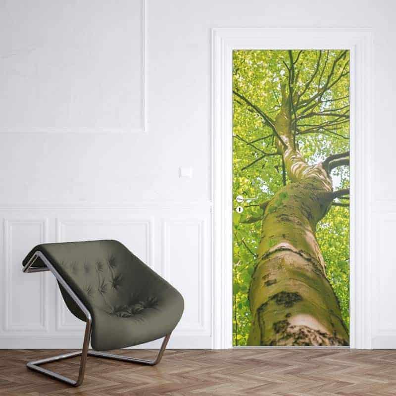 Deursticker lenteboom 1