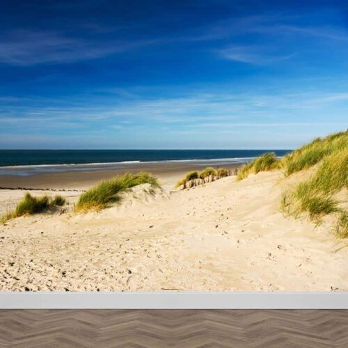 Fotobehang strand en duinen