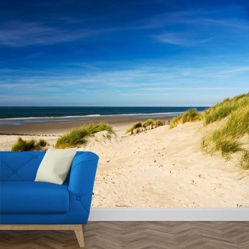 Fotobehang strand en duinen 1