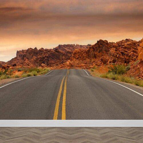 Fotobehang Highway