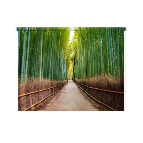 Rolgordijn bamboebos