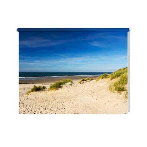Rolgordijn Strand en duinen