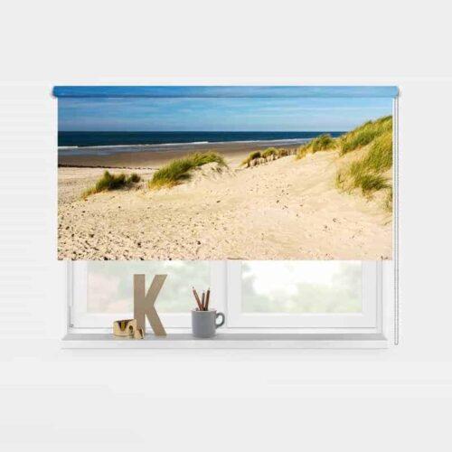 Rolgordijn Strand en duinen 1