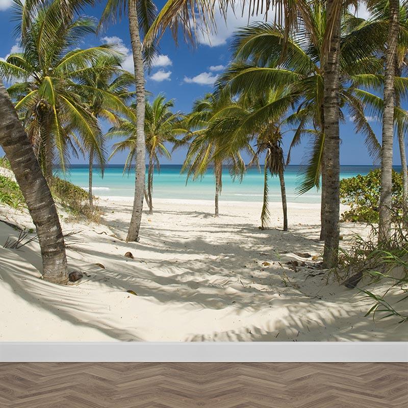 Fotobehang Strand Zee.Fotobehang Tropisch Strand Gratis Op Maat Gemaakt Bij Youpri Nl
