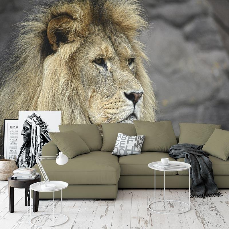 Fotobehang Koning van de jungle