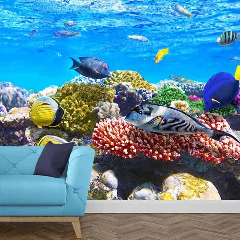 Fotobehang aquarium 1