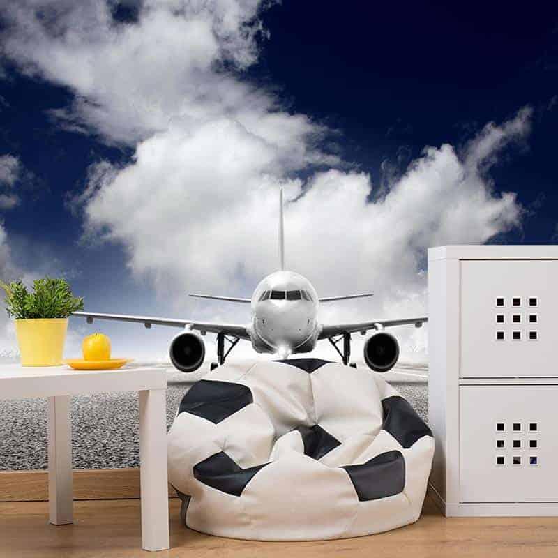 Fotobehang vliegtuig 1