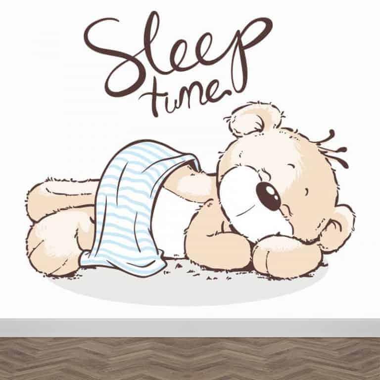 Fotobehang sleep time
