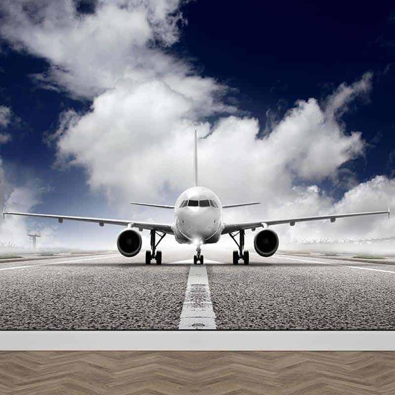 Fotobehang vliegtuig