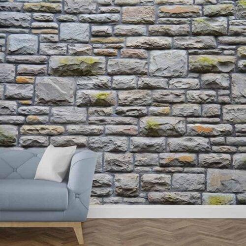 Fotobehang stenen muur 1