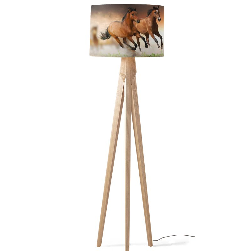 Lampenkap Paarden