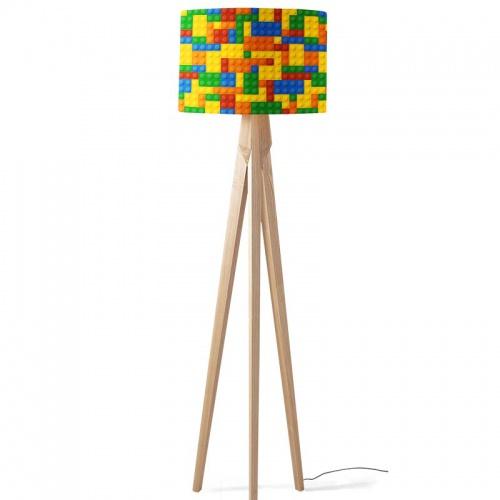 Lampenkap Legoblokjes