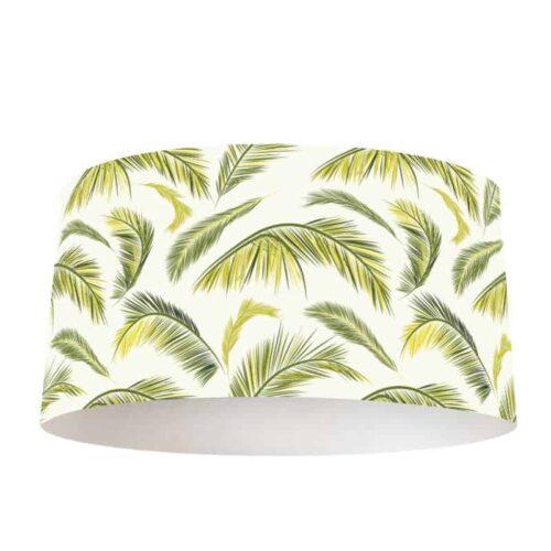 Lampenkap palmbladeren