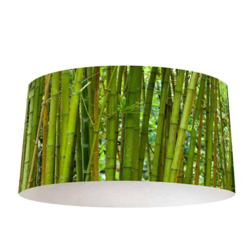 Lampenkap groene bamboe