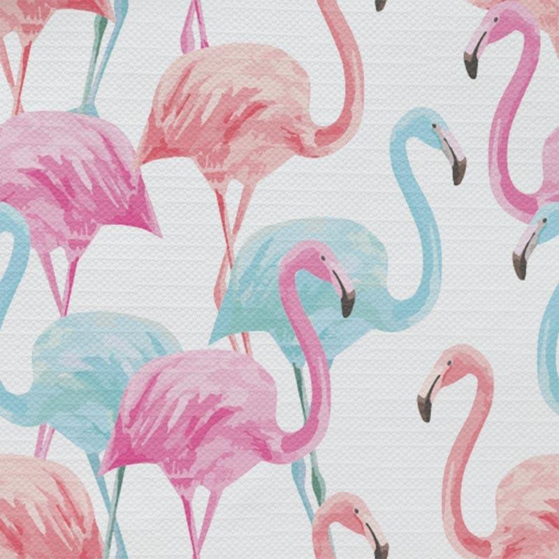 Tafelkleed Tropische flamingo patroon