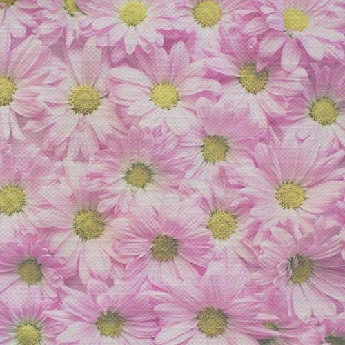 Tafelkleed Roze bloemetjes 1