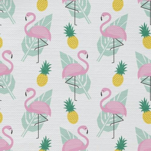 Tafelkleed Flamingo patroon 1