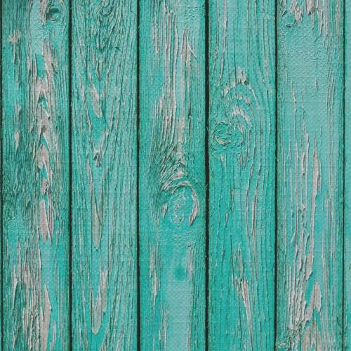 Tafelkleed Azuurblauw oud hout