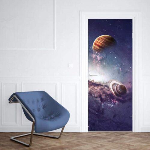 Deursticker Universum 1