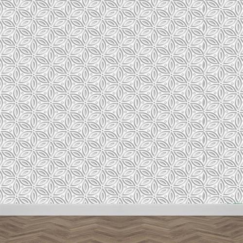 Fotobehang origami patroon
