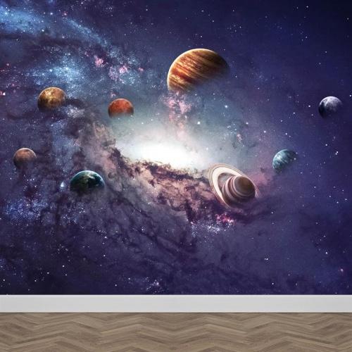 fotobehang universum