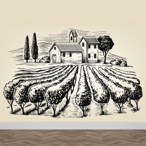 Fotobehang Italiaans landschap