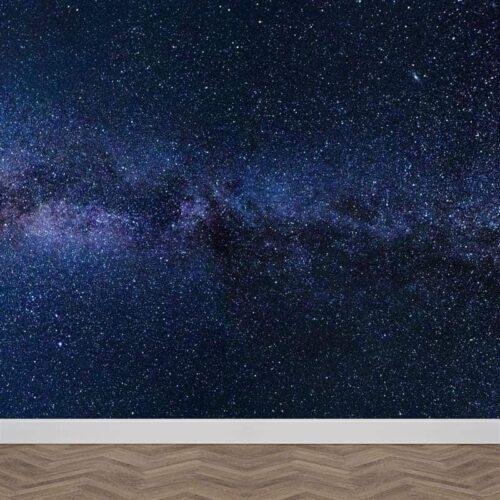 Fotobehang sterren in de nacht