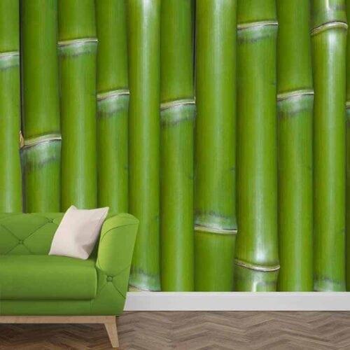 Fotobehang Bamboe