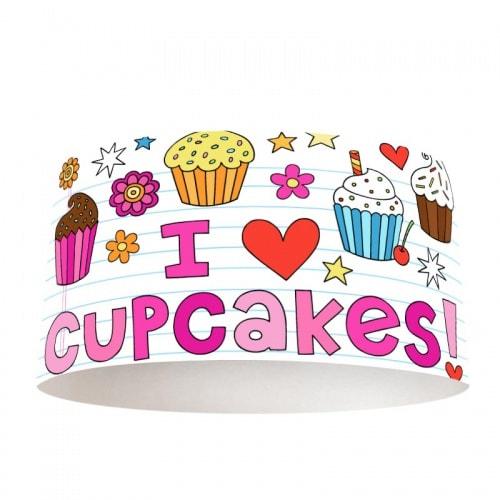 Lampenkap Cupcakes